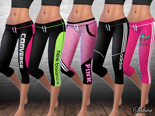 Ladies Fitness Leggings by Saliwa