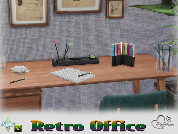 Retro Office by BuffSumm