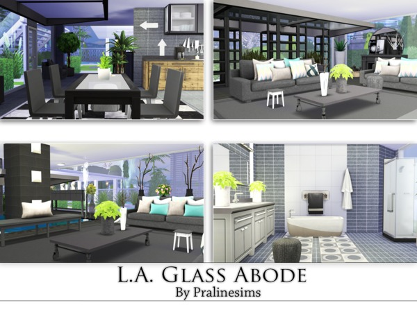 L.A. Glass Abode by Pralinesims