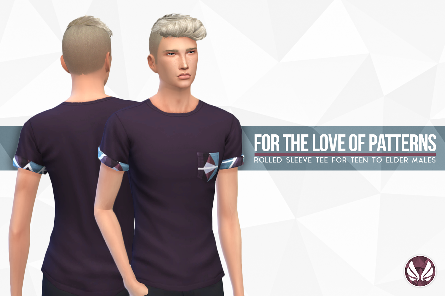 For The Love of Patterns Tee by simsationaldesigns