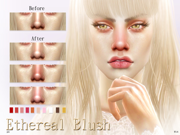 Ethereal Blusher  N14 by Pralinesims