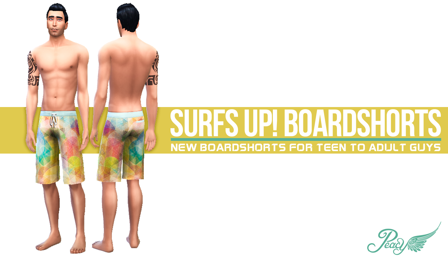 Surfs Up! Boardshorts by simsationaldesigns