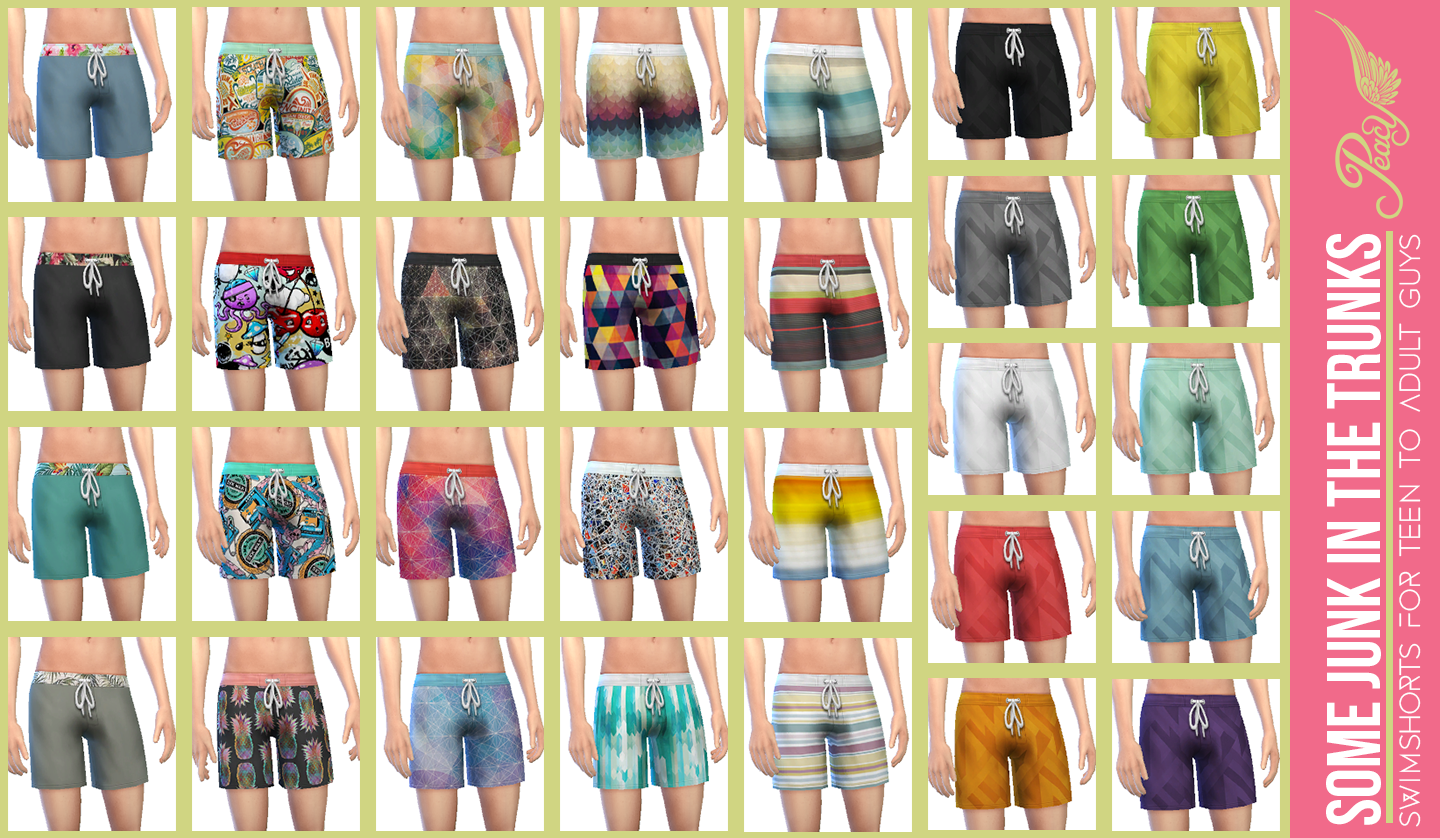 Some Junk in The Trunks by simsationaldesigns