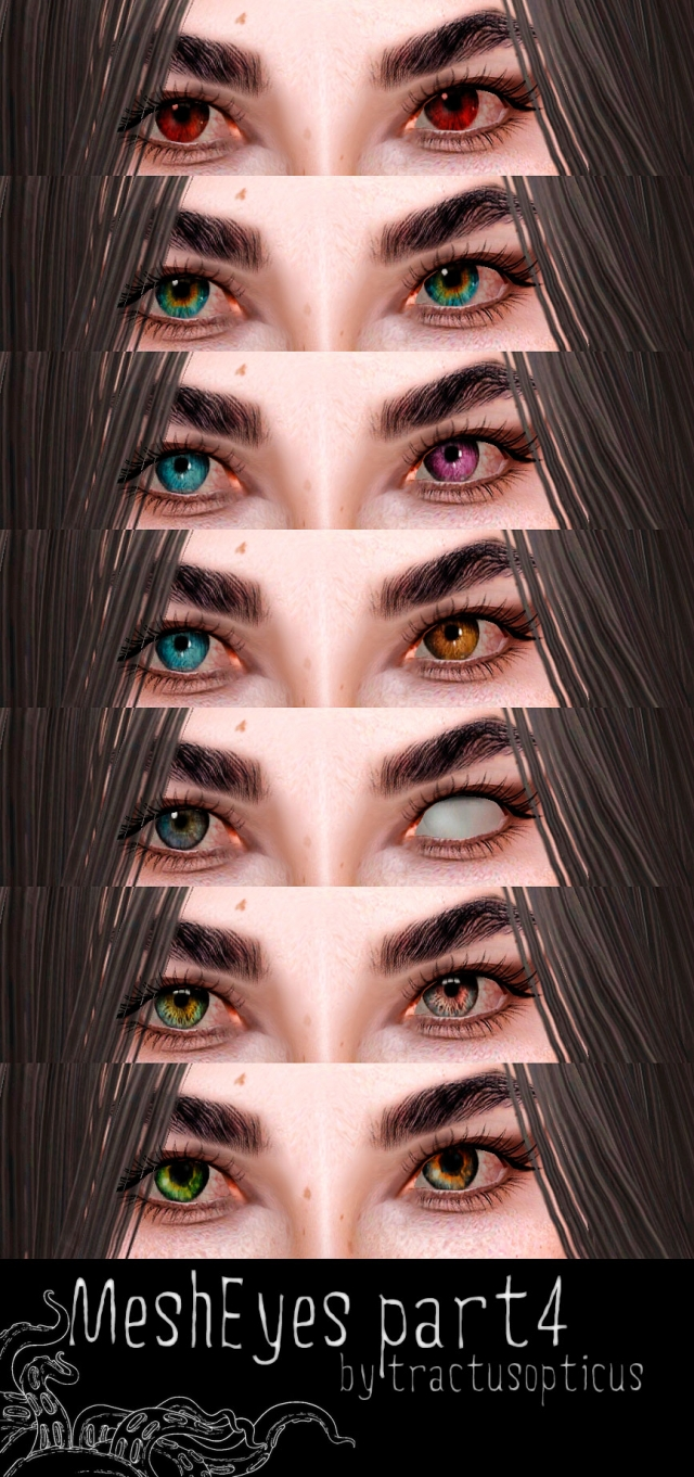 Mesh Eyes part 4 by tractusopticus