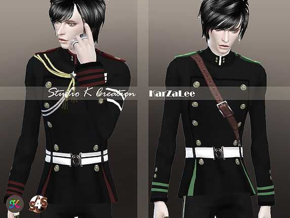 [Seraph of the End]-uniform for male by angelkwan6