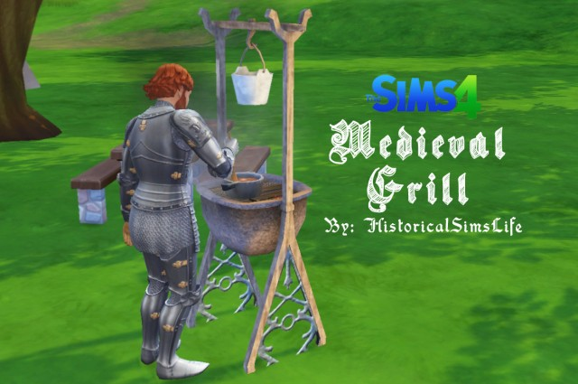 MEDIEVAL GRILL by HistoricalSimsLife