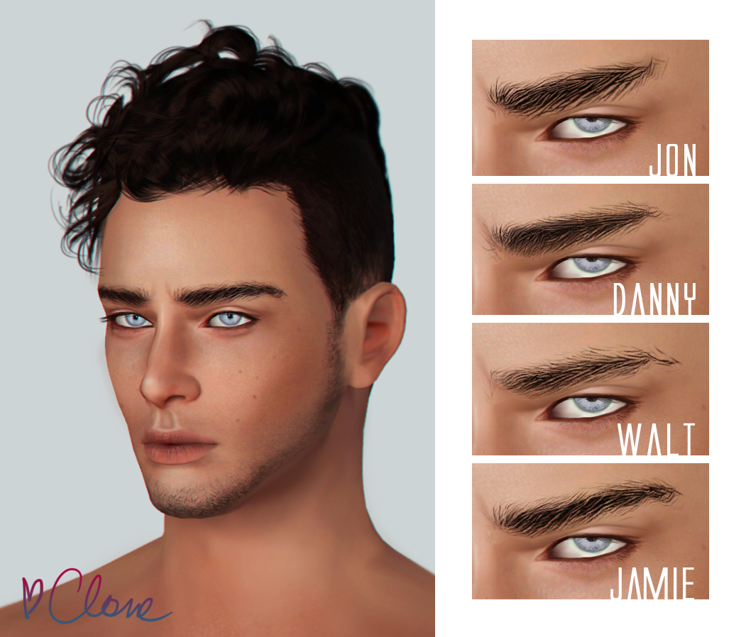 Eyebrows for males от andhisrabbits