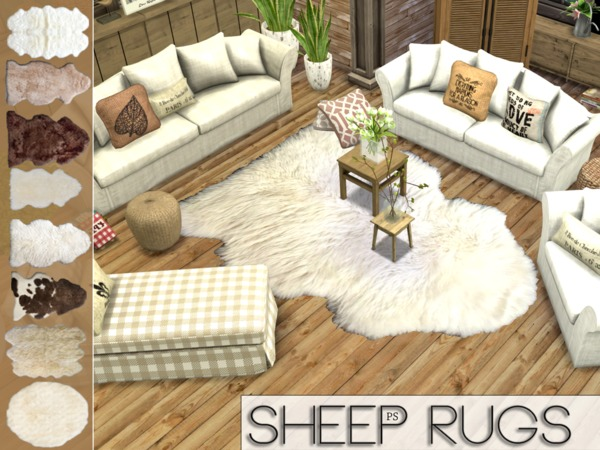 Sheep Rugs by Pralinesims