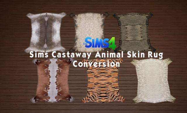 Animal Skin Rug by HistoricalSimsLife