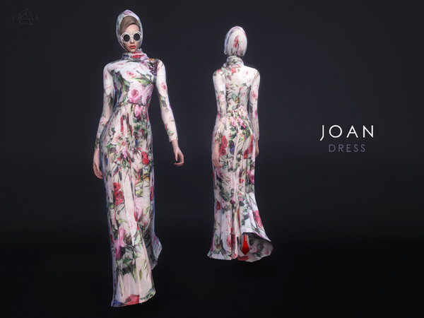 Dress & Scarf Set - JOAN by starlord