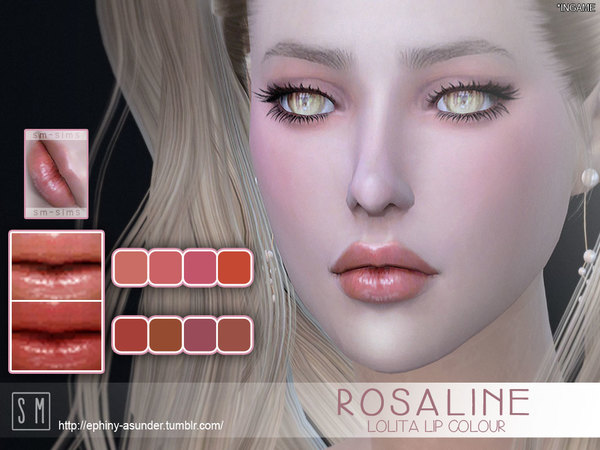 [ Rosaline ] - Lolita Lip Colour by Screaming Mustard