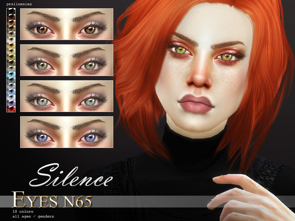 Crystal Eyes Bundle N07 by Pralinesims