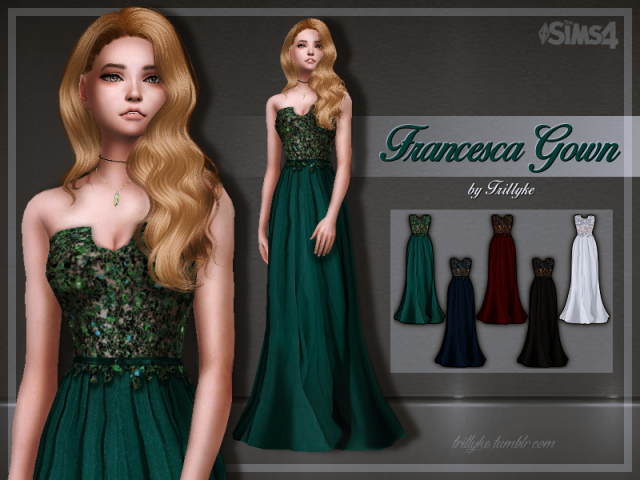 Francesca Gown by trillyke