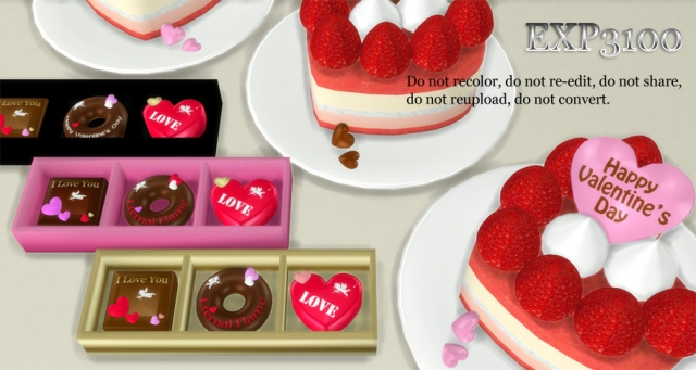 Valentines Day Sweets by Exp3100