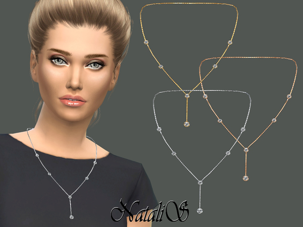 NataliS_Lariat necklace with crystals