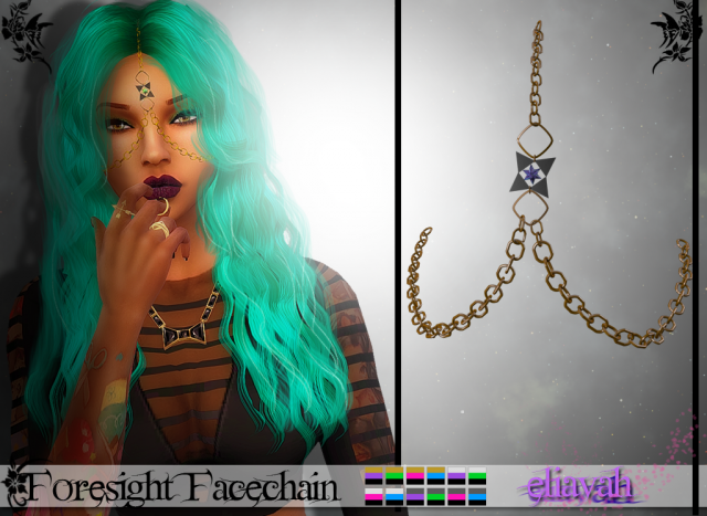 Foresight Facechain (TS4) by Eliavah