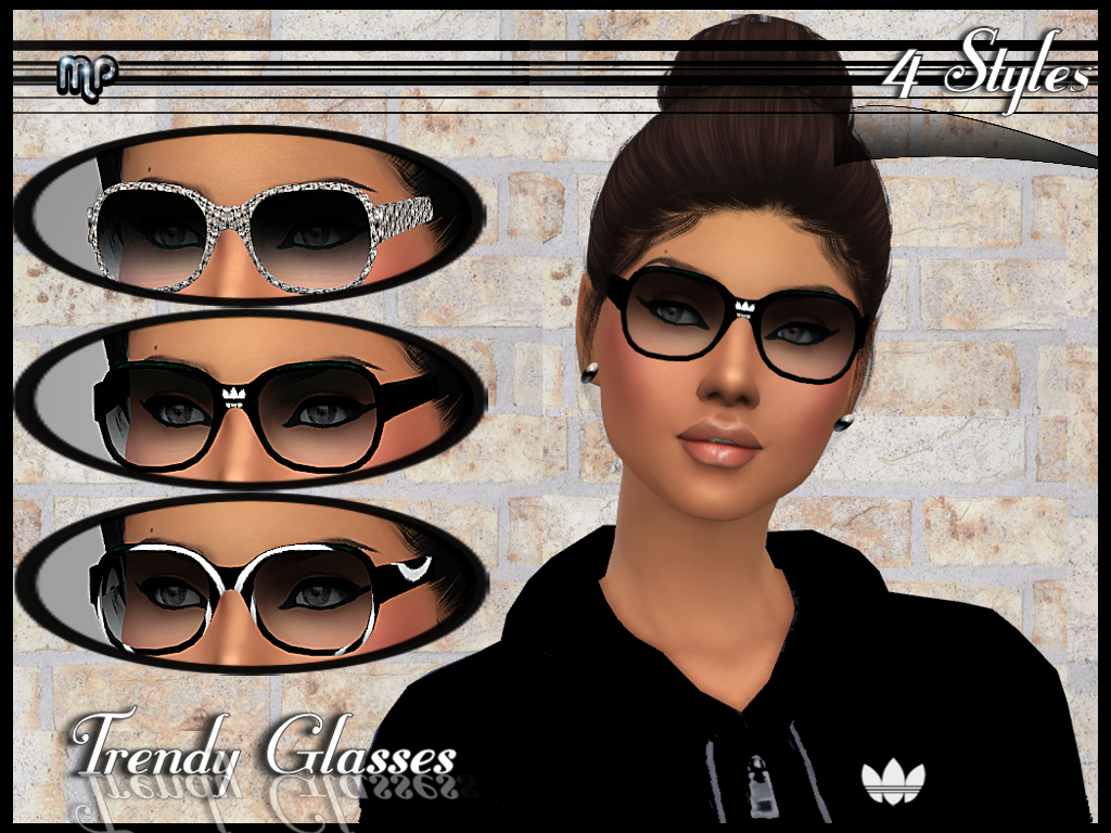 MP Trendy Glasses by MartyP
