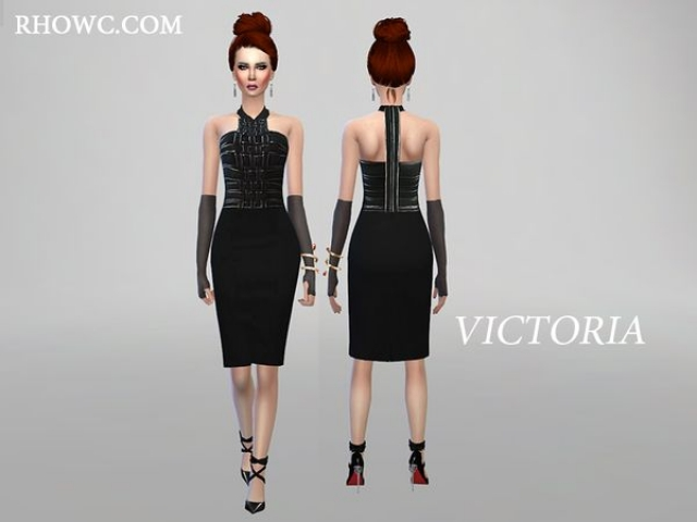 VICTORIA PENCIL DRESS by RHOWC