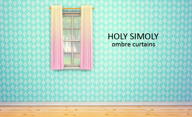 Holy Simoly Simple elegant curtains by lina-cherie
