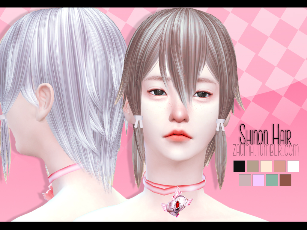 Shinon Hair for Females by Zauma