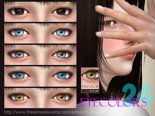 S-Club WM thesims4 Eyecolor 24