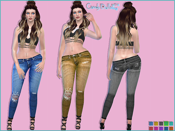 CandyDoll Sassy Jeggings by DivaDelic06