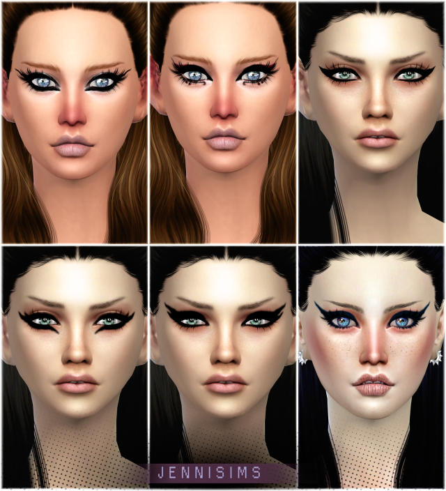 Exotic Eyeliners Vol4 Base Game compatible by JenniSims