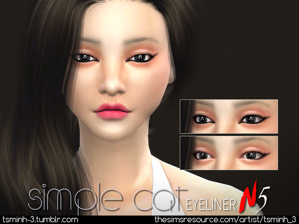 Simple Cat Eyeliner by tsminh_3