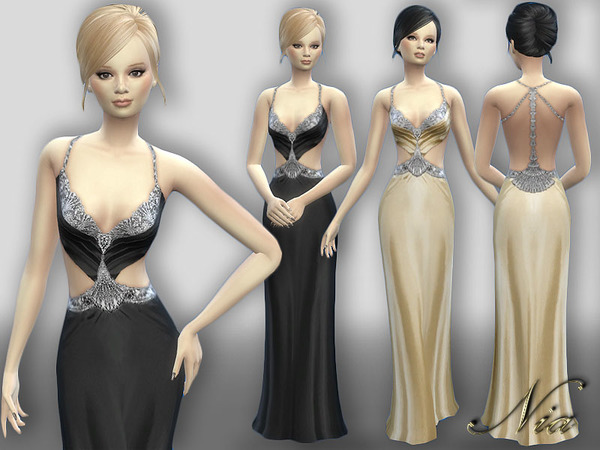 Evening Gown by Nia