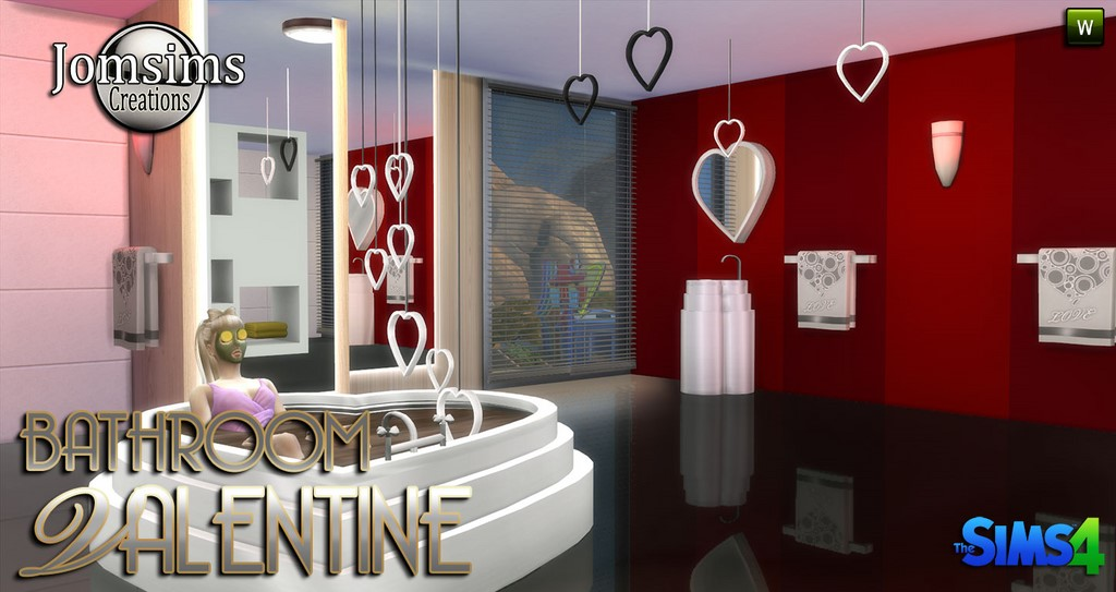 Jomsims Creations  Furniture, Bathroom : Valentine bathroom