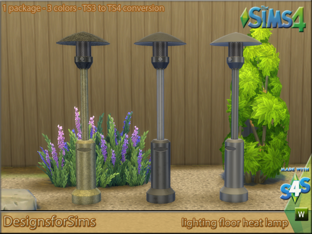 TS3 To TS4 Conversion Small outdoor set by Kyta1702