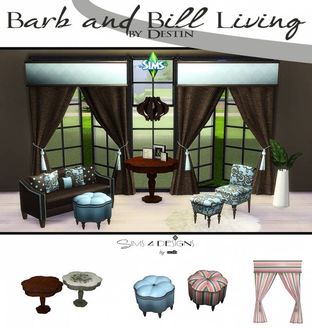 Ts2 to Ts4 conversion of Barb and Bill Living by Daer0n