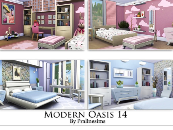 Modern Oasis 14 by Pralinesims