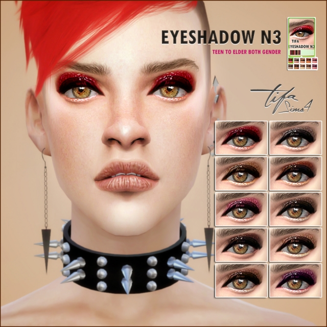 Eyeshadow N3 Male & Female by Tifa