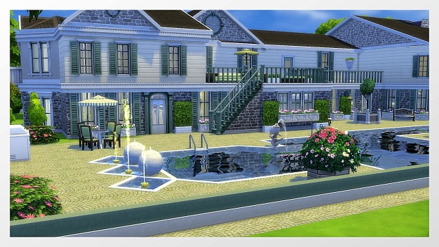 All 4 Sims  Houses and Lots, Residential Lots : Villa by Oldbox