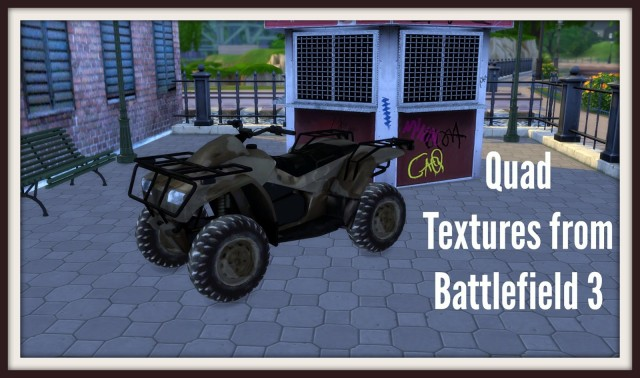 Quad Textures from Battlefield 3 by Dinha