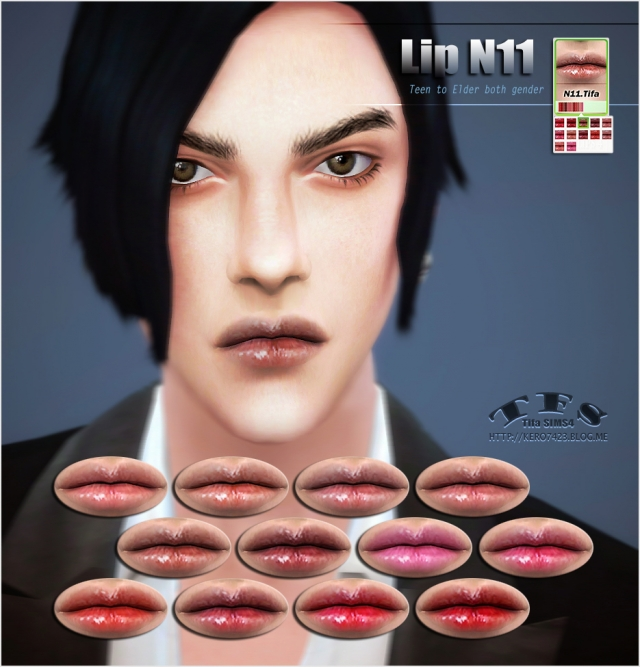 Lip N11 Male & Female by Tifa