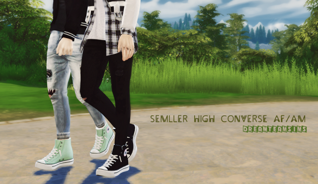 Semller High Converse AM/AF by DreamTeamSims