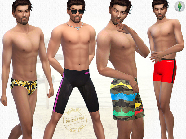 Go for a Swim - Swimwear Set by Fritzie.Lein