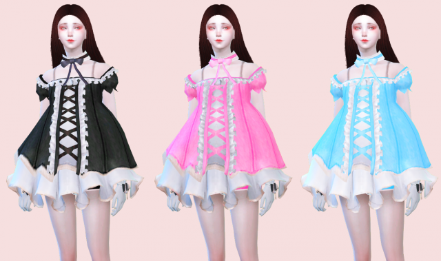 TERA Dress in 6 Colors by Zauma
