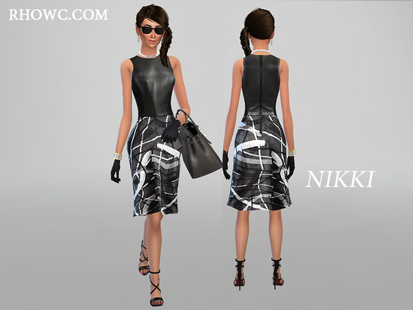 NIKKI DRESS by RHOWC