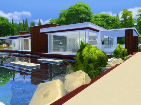 Modern Pool House by Suzz86