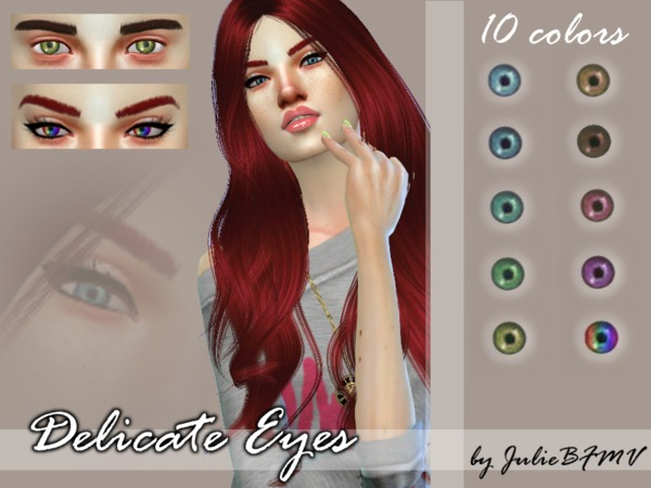 Delicate Eyes by JulieBFMV