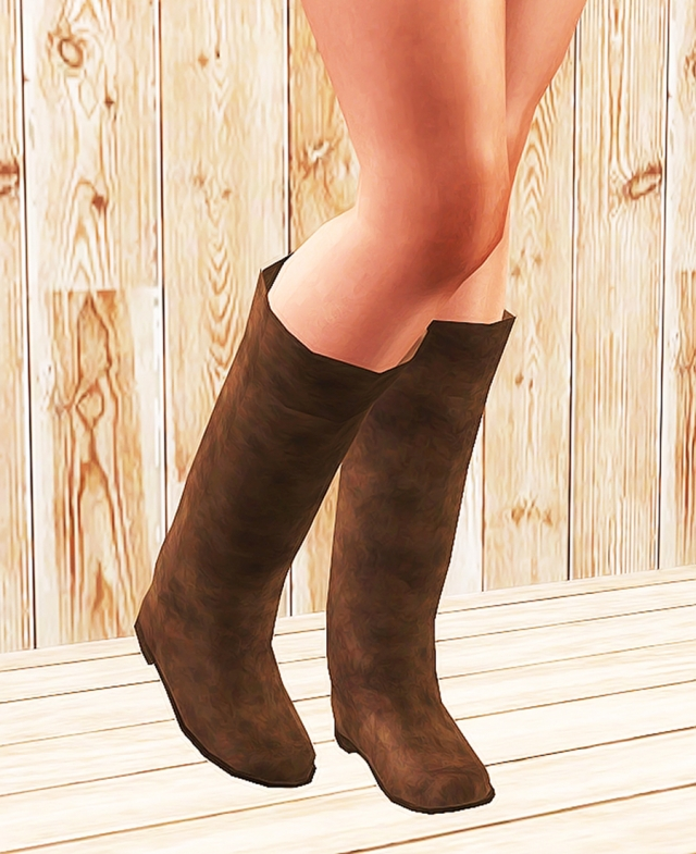 af Simple Long Boots by Ninyo