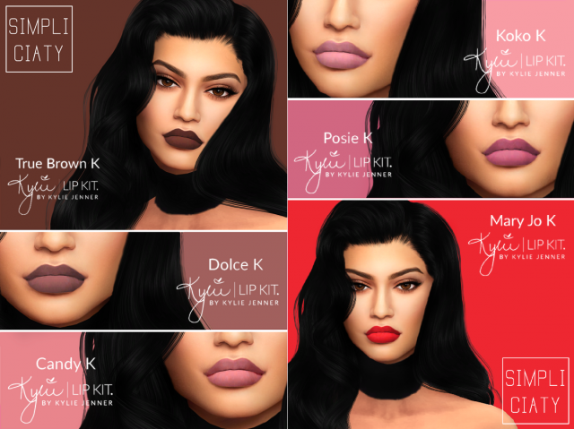 KYLIE LIP KIT V2 by Simpliciaty