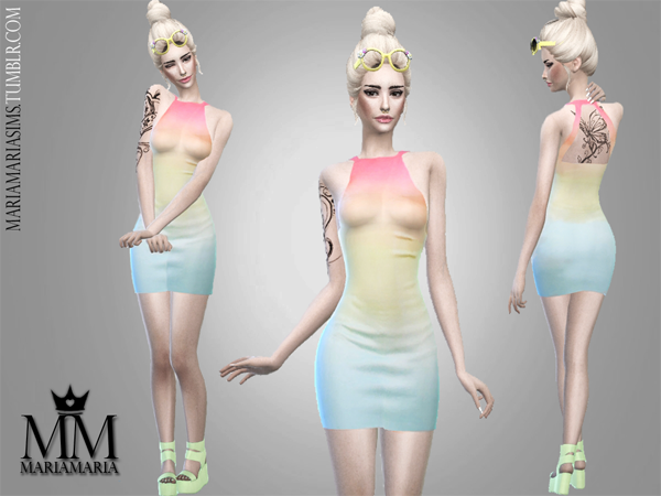 Gradient Dress by MariaMaria