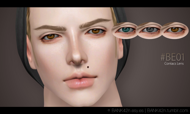 Eyes #BE01 Contacs Lens by Bank42n
