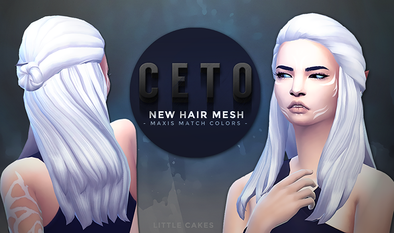 CETO Hair for Females by LittleCakes