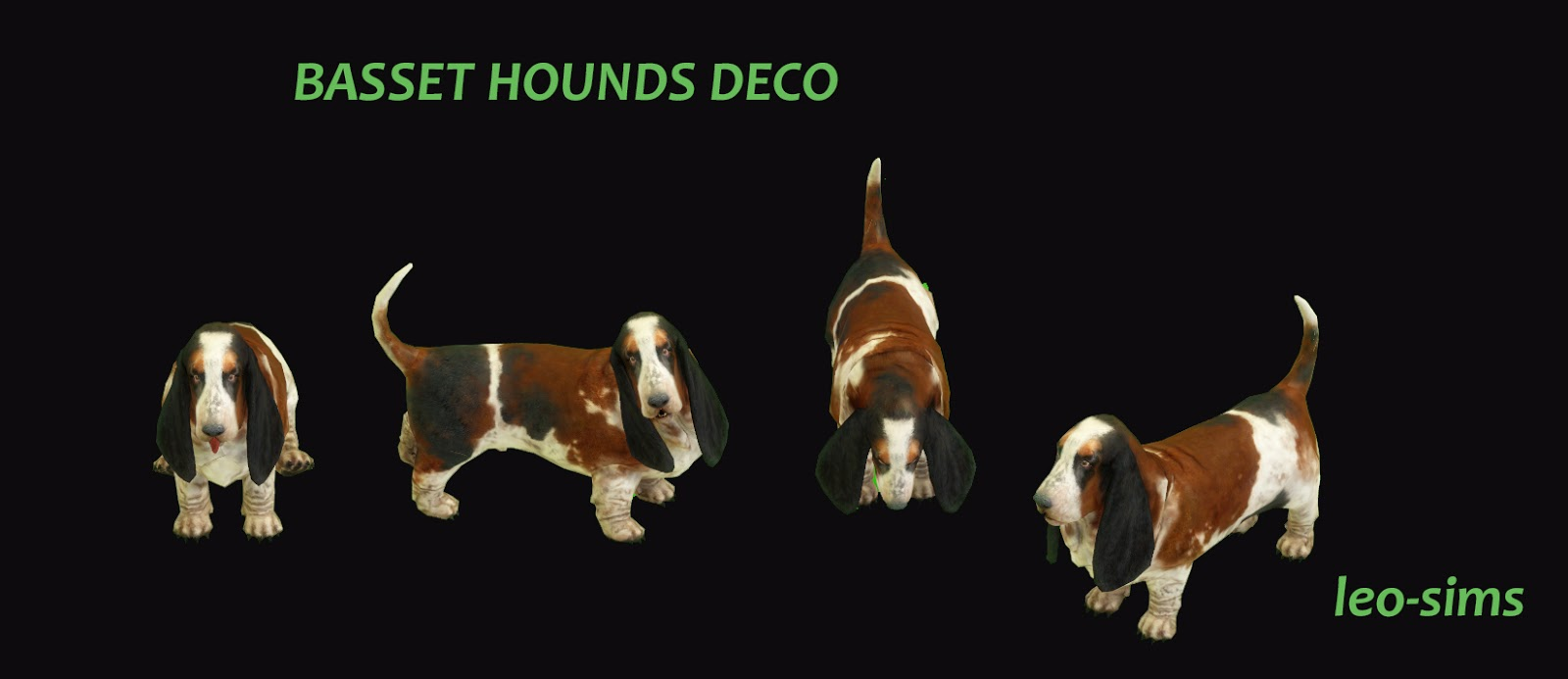 TS2 Basset Hounds Conversion by Leo4Sims