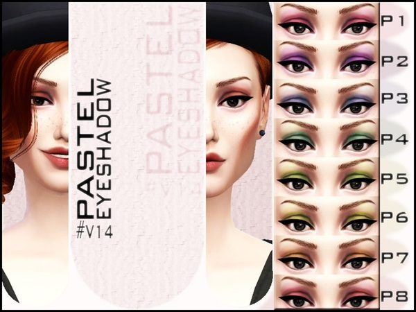 V  14  Pastel Eyeshadow by Vidia